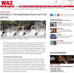 WAZ Homepage