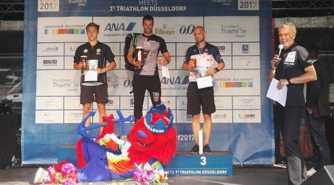 Sieg beim T3-Triathlon Düsseldorf