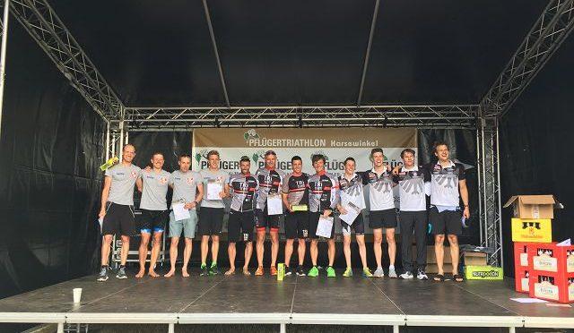 Sieg beim 31. Pflüger Triathlon mit dem TriTeamMaxmo in der NRW-Liga
