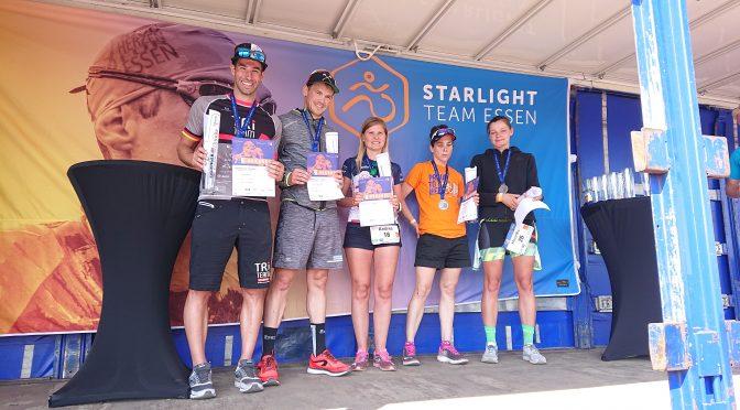 2. Platz beim Triathlon Essen in 4:05:50