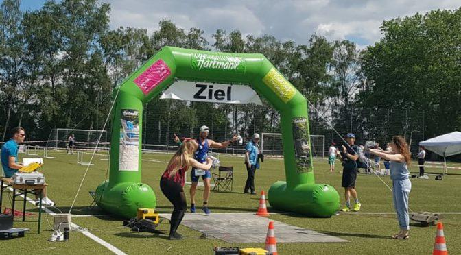 Sieg beim Triathlon Kamen